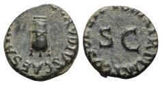 Ancient Coins - Claudius (41-54). Æ Quadrans - Rome