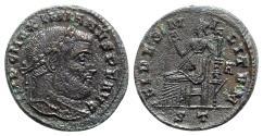 Ancient Coins - Maximianus (First Reign, 286-305). Æ Follis - Ticinum