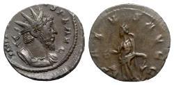 Ancient Coins - Tetricus I (271-274). Radiate - Treveri - R/ Salus