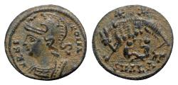 Ancient Coins - Commemorative Series (330-354). Æ Follis - Alexandria - R/ She-wolf