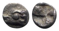 Ancient Coins - Ionia, Phokaia, c. 525/0-500 BC. AR Hemiobol