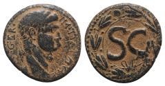 Ancient Coins - Nero (54-68). Seleucis and Pieria, Antioch. Æ As 26mm, AD 54-6.