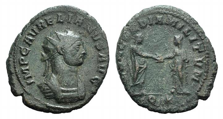 Ancient Coins - Aurelian (270-275). Radiate. Siscia, 274.