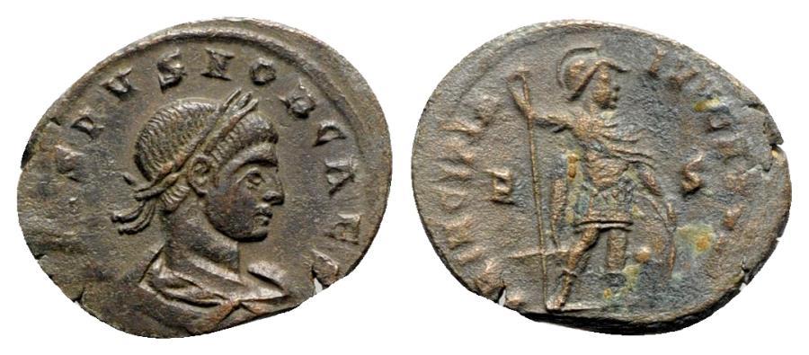 Ancient Coins - Crispus (Caesar, 316-326). Æ Follis - Arelate