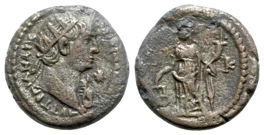 Ancient Coins - Trajan (98-117). Egypt, Alexandria. BI Tetradrachm - year 20 - R/ Dikaiosyne