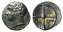 Gaul, Massalia, c. 218/5-200 BC. AR Obol