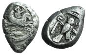 Phoenicia, Tyre. Uncertain king, c. 425-394 BC. AR Shekel