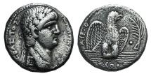 Ancient Coins - Nero (54-68). Seleucis and Pieria, Antioch. AR Tetradrachm, regnal year 9 and year 111 of the Caesarean Era (AD 62/3).