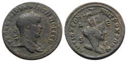 Ancient Coins - Philip I (244-249). Seleucis and Pieria, Antioch. Æ 8 Assaria