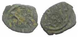 Ancient Coins - Manuel II Palaeologus (1391-1425). Æ Follaro. Constantinople mint RARE