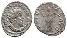 Ancient Coins - Postumus (260-269). Antoninianus - Treveri - R/ Felicitas