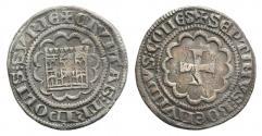 Ancient Coins - CRUSADERS, County of Tripoli. Bohémond VII. 1275-1287. AR Half Gros