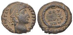 Ancient Coins - Constantius II (Caesar, 324-337). Æ 14mm. Antioch.  R/ VOT XX MVLT XXX