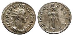 Ancient Coins - Probus (276-282). Radiate. Lugdunum. R/ FELICITAS Ex Guercheville hoard