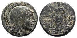 Ancient Coins - Pontos, Komana, c. 105-90 or 90-85 BC. Æ - Athena / Perseus