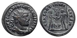Ancient Coins - Diocletian (284-305). Radiate - Cyzicus