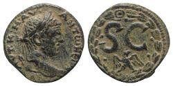 Ancient Coins - Caracalla (198-217). Seleucis and Pieria, Antioch. Æ 21.5mm