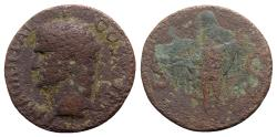 Ancient Coins - Agrippa (died 12 BC). Æ As - Rome - R/ Neptune