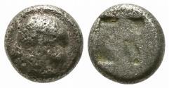 Ancient Coins - Ionia, Phokaia, c. 521-478 BC. AR Obol