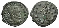 Ancient Coins - Licinius I. AD 308-324. Æ Follis. Londinium (London) mint. Struck AD 310-312