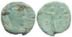 Ancient Coins - Gordian III (238-244). Æ As. Rome, 240-3.  R/ SOL