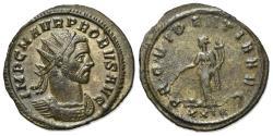 Ancient Coins - Probus (276-282). Radiate. Rome, AD 276. R/ PROVIDENTIA