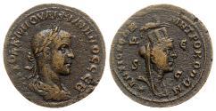 Ancient Coins - Philip II (247-249). Seleucis and Pieria, Antioch. Æ - R/ Tyche