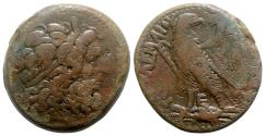 Ancient Coins - Ptolemaic Kings of Egypt, Ptolemy III Euergetes (246-222 BC). Æ Tetrobol