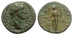 Ancient Coins - Antoninus Pius (138-161). Æ As - Rome - R/ Salus
