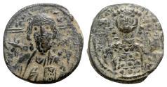 Ancient Coins - Michael VII Ducas (1071-1078). Æ 40 Nummi - Constantinople