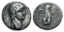 Ancient Coins - Nero (54-68). Seleucis and Pieria, Antioch. AR Tetradrachm, regnal year 9 and year 111 of the Caesarean Era (AD 62/3).