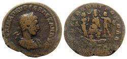 Ancient Coins - Severus Alexander (222-235). Seleucis and Pieria, Antioch. Æ 8 Assaria - R/ Tyche