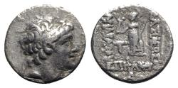 Ancient Coins - Kings of Cappadocia, Ariarathes VIII (c. 100-98/5 BC). AR Drachm