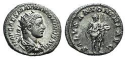 Ancient Coins - Elagabalus (218-222). AR Antoninianus. Rome, 218-9. R/ SALUS