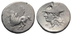 Ancient Coins - Corinth, c. 375-300 BC. AR Stater