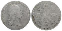 World Coins - Holy Roman Empire, Franz II (1792-1804). AR Kronentaler 1795, A Vienna