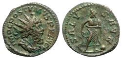 Ancient Coins - Postumus (260-269). Antoninianus - R/ Aesculapius