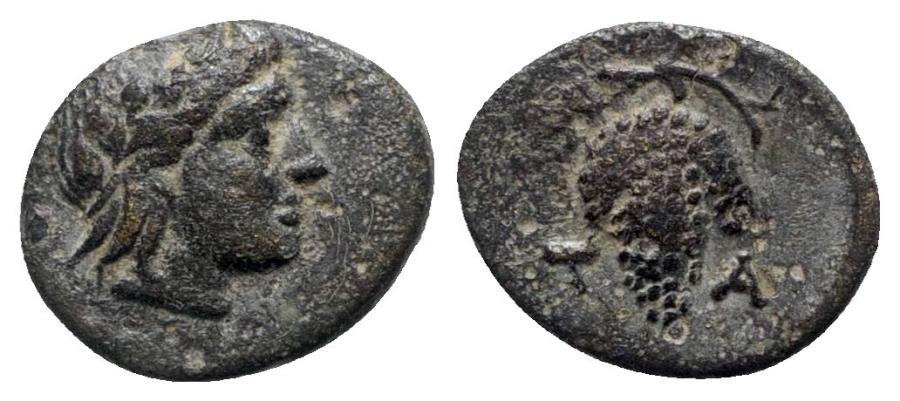 Ancient Coins - Aeolis, Temnos, 3rd century BC. Æ