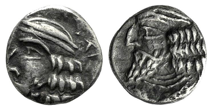Ancient Coins - Kings of Persis. Pakor (Pakōr II) (1st century AD). AR Obol