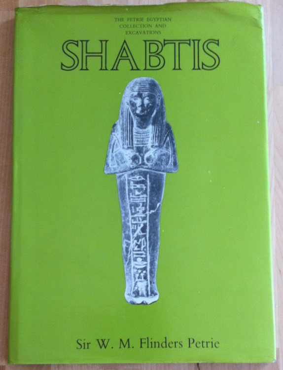 Ancient Coins - W. M. Flinders Petrie - The Petrie Egyptian Collection and Excavations Shabtis