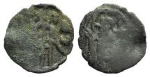 Ancient Coins - John VII Palaeologus. 1399-1403.  Æ Follaro VERY RARE