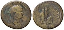 "Ancient Coins - ""Judaea Capta"" commemorative. Vespasian. AD 69-79. Æ Sestertius"