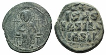Ancient Coins - Anonymous Folles. Time of Constantine IX, circa 1042-1055. Æ Follis