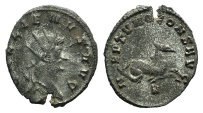 Ancient Coins - GALLIENUS. Sole reign, 260-268 AD. Antoninianus. Rome mint. Struck 268 AD.  R/ NEPTVNO CONS AVG HIPPOCAMP