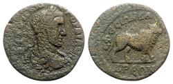 Ancient Coins - Gordian III (238-244). Ionia, Ephesus in alliance with Alexandria. Æ