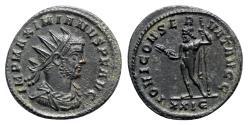 Ancient Coins - Maximianus (286-305). Radiate - Rome - R/ Jupiter