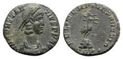 Ancient Coins - Constantius II (337-361). Æ - Treveri - R/ Phoenix