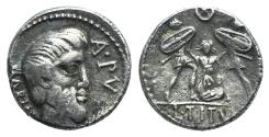 Ancient Coins - Rome Republic. L. Titurius L.f. Sabinus, Rome, 89 BC. AR Denarius