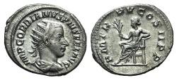Ancient Coins - Gordian III(238-244). AR Antoninianus. Rome, 242. R/ APOLLO