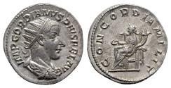 Ancient Coins - Gordian III (238-244). AR Antoninianus - Rome - R/ Concordia